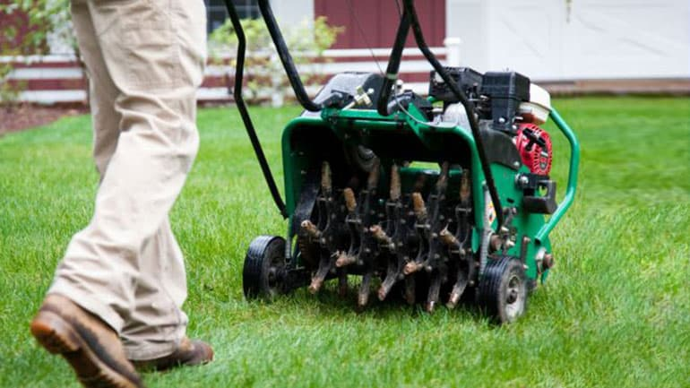Dependable Lawn Pros - Core Aeration and Over Seeding